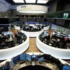 European shares inch up as trade war concerns ease; Ryanair dips