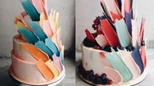 'Feather' cakes are the dreamiest new baking craze on Instagram