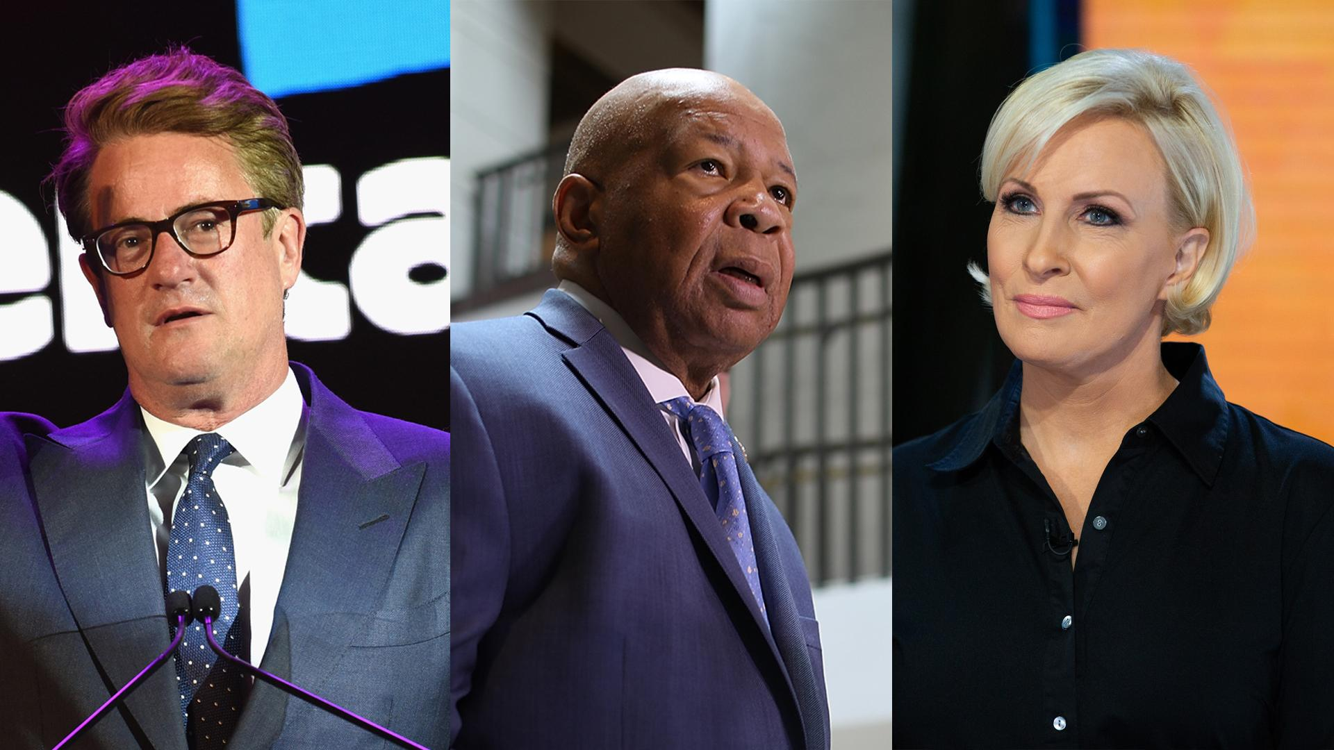 'Morning Joe' hosts remember Elijah Cummings, who married them: 'He was just perfect'