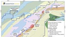Marathon Gold Reports Latest Drill Results from the Berry Zone, Valentine Gold Project