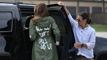 Melania Trump explains why she wore 'that' jacket on visit to migrant children