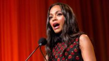 Zoe Saldana has seen 'how good Americans truly, truly are,' and now it's your turn