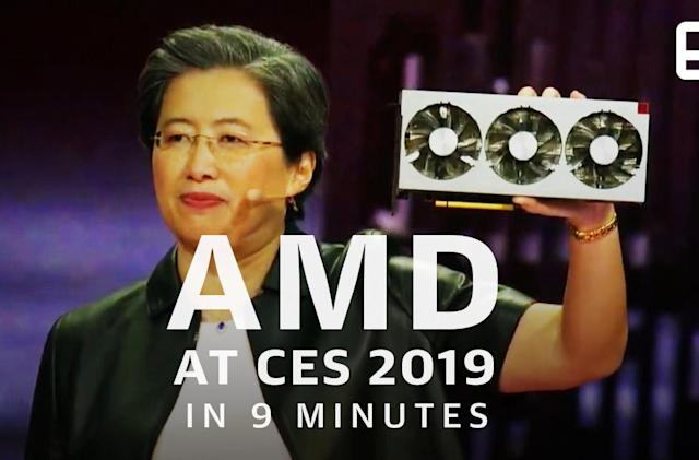 Watch AMD's CES press event in under 9 minutes