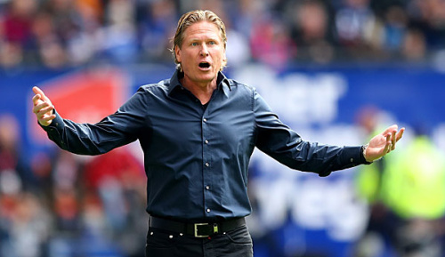 """Bundesliga: Gisdol: """"Druck macht mir nicht viel aus"""""""