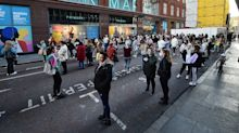Shops 'not out of the woods' as people return to UK high streets
