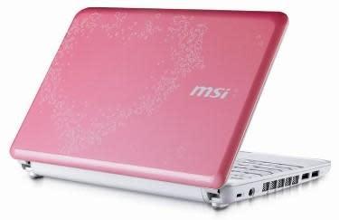 MSI Wind U100 Valentine Edition: geek romance, exemplified