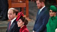 A Lip Reader Figured Out What William Said to Kate at the Sussexes' Final Royal Engagement