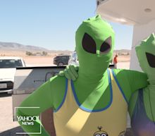 'It's happening': Alien-enthusiasts descend on Area 51 for a UFO party — 'storm' or no storm