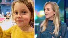 The Project's Carrie Bickmore shares daughter's wise thoughts