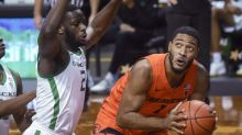 Thompson, Alatishe help Oregon State beat No. 21 Oregon