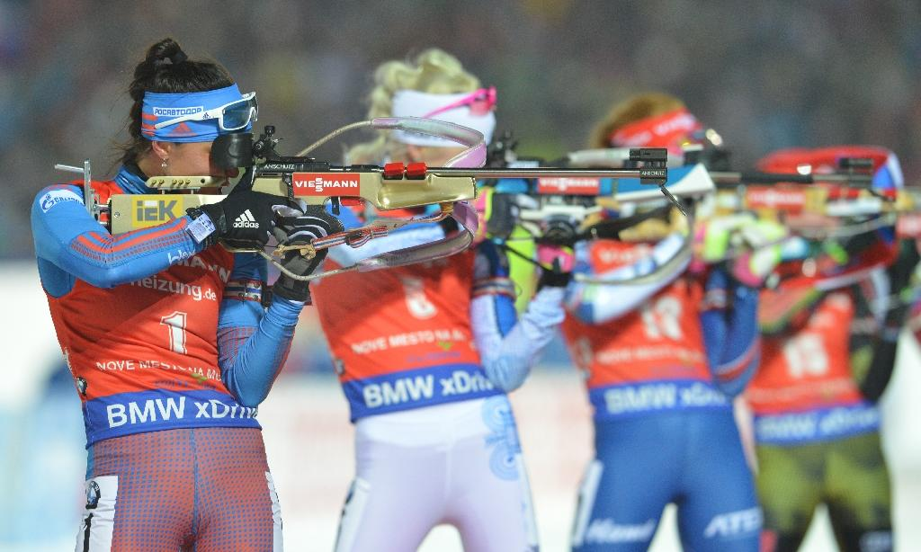 Russia backed out of hosting the biathlon World Cup after international protests over its doping record (AFP Photo/Michal CIZEK)