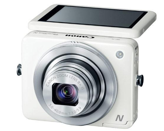 Canon reinvents the point-and-shoot with ambidextrous PowerShot N