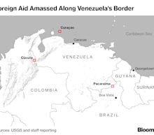 Fiery Skirmishes Erupt as Guaido Tries to Bring Venezuela Aid