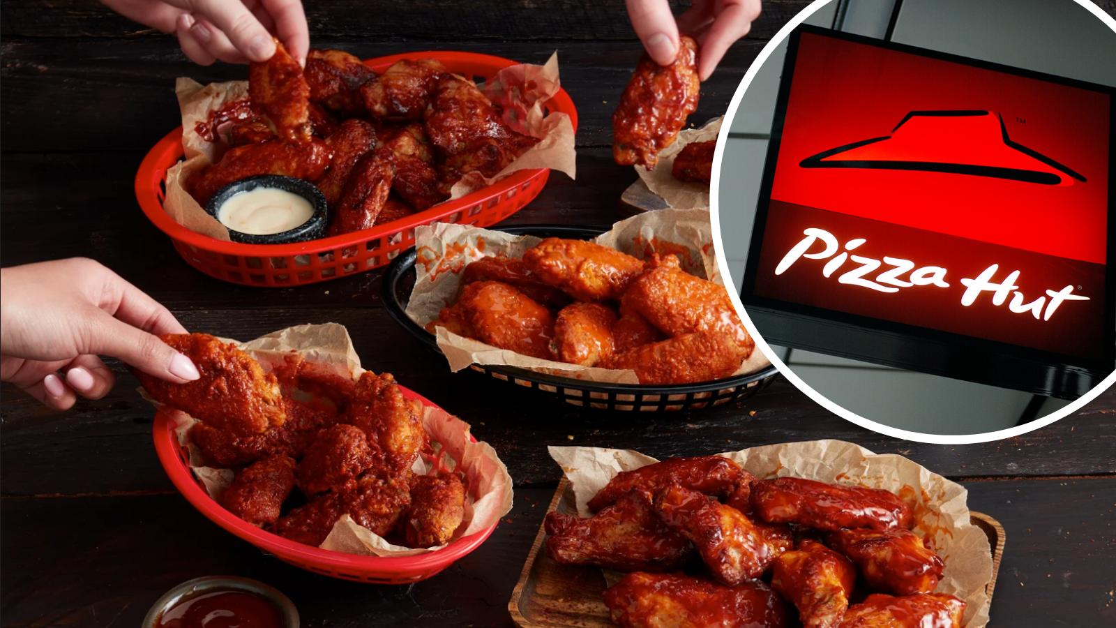 Pizza Hut is selling $1 wings all week