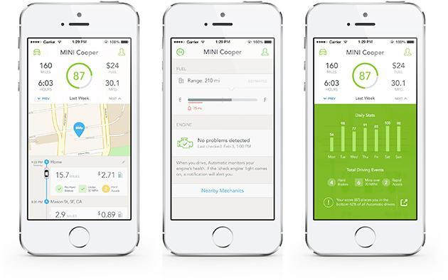 Automatic's updated iOS app tells you how much gas you've got left