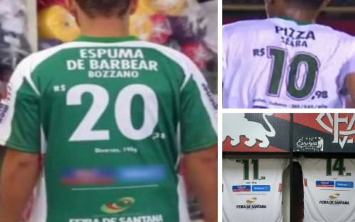 Flu de Feira have come up with a novel way of selling shirt sponsorship