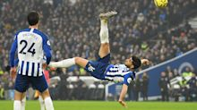 Brighton's Alireza Jahanbakhsh lost for words after incredible goal against Chelsea