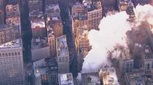 NYC explosion: Steam pipe blast engulfs Flatiron district in smoke causing traffic chaos