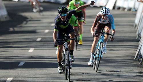 Radsport: Baskenland-Rundfahrt: Valverde nach Sieg auf Königsetappe in Gelb