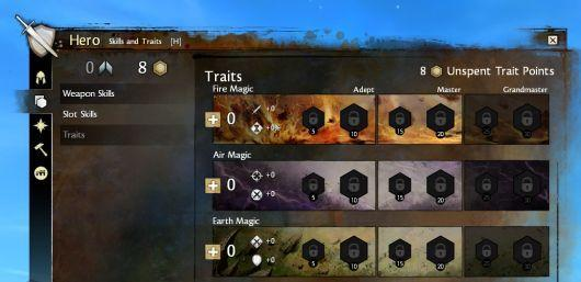 Custom-tailor your character with Guild Wars 2's traits and attributes