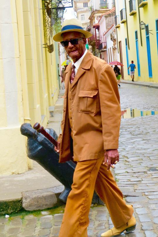 P The Older Generation In Cuba Tends To Dress More Formally During Day