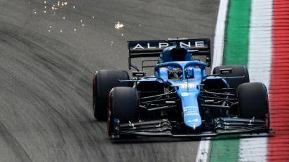 """Alonso no se muestra """"demasiado preocupado"""" por el nivel de su monoplaza"""