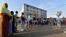 Ivory Coast president seeks third term in tense vote