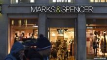 M&S shares tumble 7% after Christmas sales fall leaves sour taste