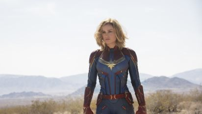 'Captain Marvel' star Brie Larson hits back in sexist 'smile' row