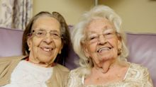 Best friends for nearly 80 years 'causing more mischief than ever' as they move into same care home
