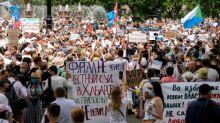 Drittes Wochenende in Folge Massenproteste im Osten Russlands gegen Kreml