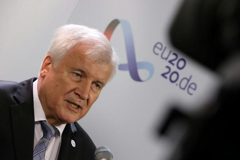 'This is a situation that is not worthy of the EU,' Seehofer told journalists (AFP Photo/FABRIZIO BENSCH)