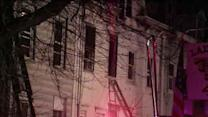 2-alarm fire damages 4 houses in Trenton