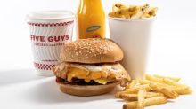 Five Guys launches breakfast menu to celebrate opening 100th store in the UK