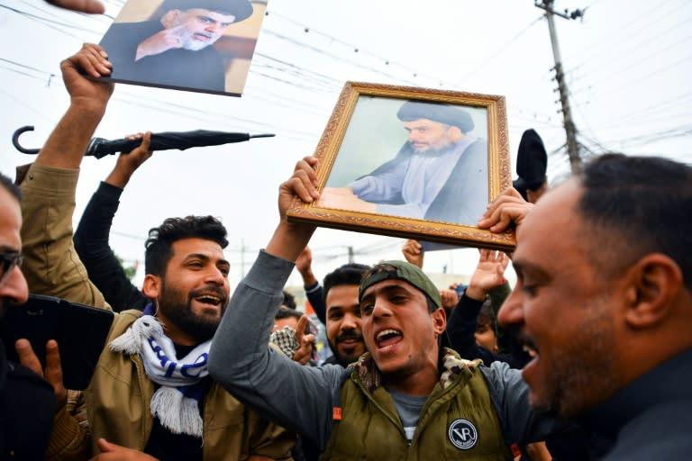 Iraqi cleric Moqtada Sadr has a broad popular base
