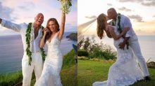 Dwayne Johnson weds longtime partner Lauren Hashian in secret Hawaiian ceremony