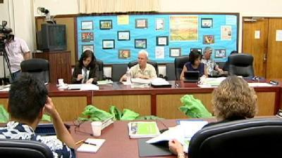 Appointed School Board Holds First Meeting