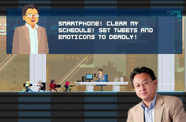 PlayStation executive becomes playable game character