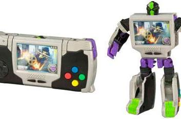 Transformers figure turns 'Game Boy' into 'Game Bot'