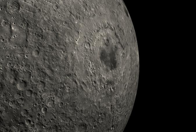 Named Mare Orientale in Latin, the Eastern Sea is believed to be one of the youngest such impact basins on the Moon. With its concentric bull's-eye rings, this 560-mile-wide feature is likely the result of a colossal impact by an asteroid-size object more than three billion years ago. Orthographic projection. Lunar Reconnaissance Orbiter, 2009-2012