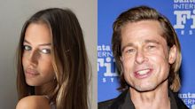 Brad Pitt y Nicola Poturalski, una relación que va lenta y con firmeza