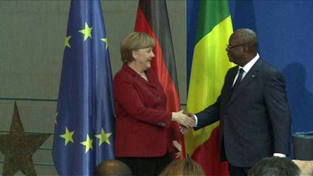 Germany, Mali leaders discuss C.African Rep. situation