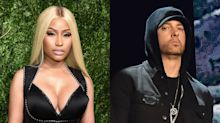 Nicki Minaj says she's dating Eminem — but is it just a joke?