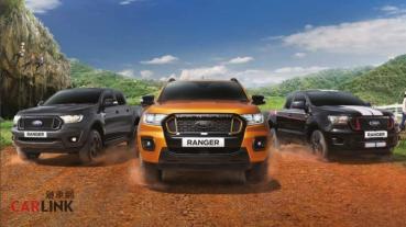 Ford Ranger又改款了?2021年式泰規新車換面登場