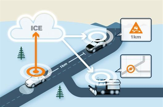 Volvo's connected cars could make winter driving safer for everyone