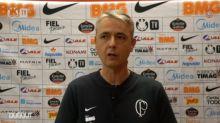 Tiago Nunes vê falha coletiva em gol e elogia atuação do Corinthians: 'Jogamos um bom futebol'