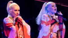 De geisha a sadomasoquista: los impactantes looks de Christina Aguilera en su nuevo espectáculo