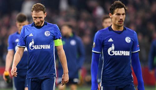 Europa League: Schalke vor dem Aus: Leblos und stümperhaft