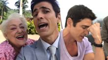 Rei do karaokê! 5 vezes que Reynaldo Gianecchini soltou a voz nos bastidores da Globo