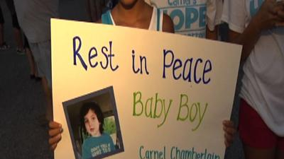 Family speaks out about slain Mich. boy